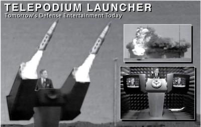 Telepodium Launcher