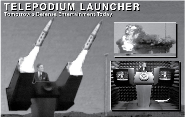 Telepodium Launcher