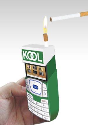 Kool Lite-A-Fone Slide Top