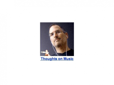 Thoughts.  On Music.