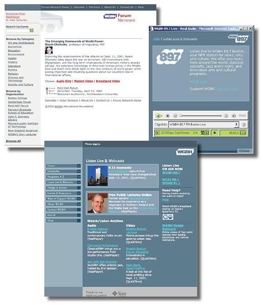WGBH Websites
