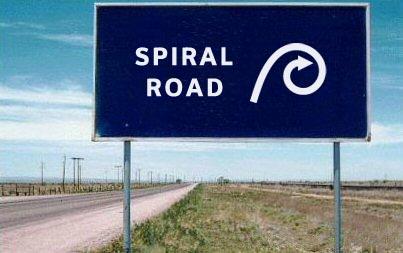 Spiral RoadSign