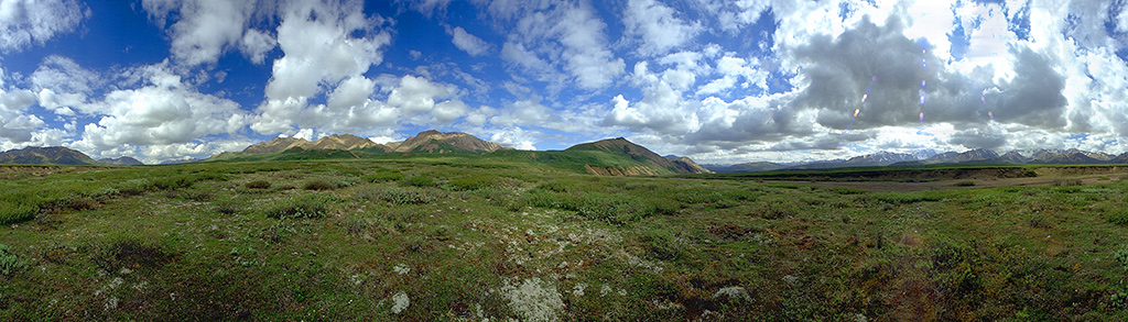 Polychrome Mountain