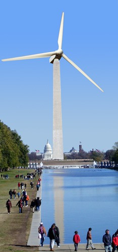 Washington Monument Wind Turbine