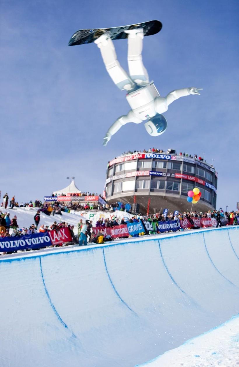 Asimo Snowboarding Robot Olympics