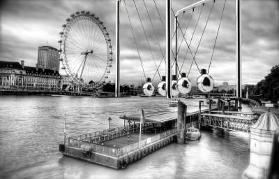 Study for Thames Cradle Monumental Sculpture