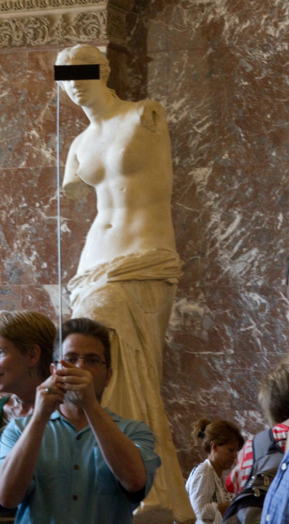 Redacted Classicism – Venus De Milo