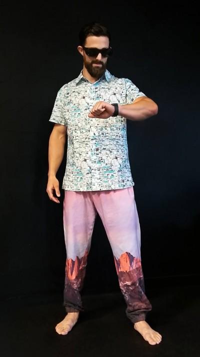 Desktop Pants and Files Davis Shirt by <a href='http://www.leanneluce.com/' style='color:blue'>Leanne Luce</a>