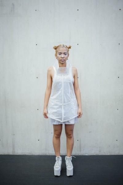 Salome Yom, Model: Amelia Zhang