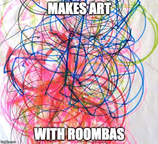 Brian Kane – Makes Art With Roombas