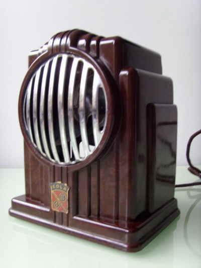ART-DECO-BAKELITE-electric-fan-EDLA-JUNIOR-skyscraper